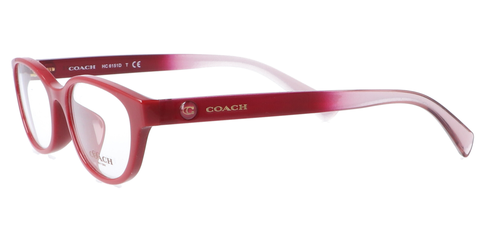 COACH HC6151D_52_バーガンディー/バーガンディー トゥー ピンク グラディエント