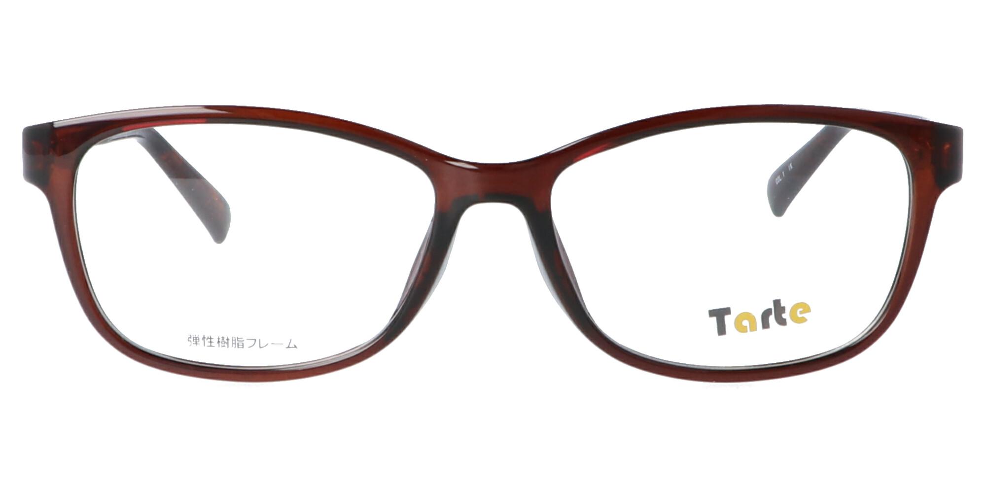 タルト TAR4020_54_クリアダークブラウン