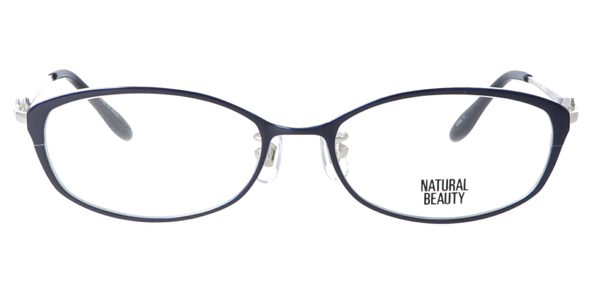 ナチュラルビューティー NB6029_52_ネイビー/シルバー