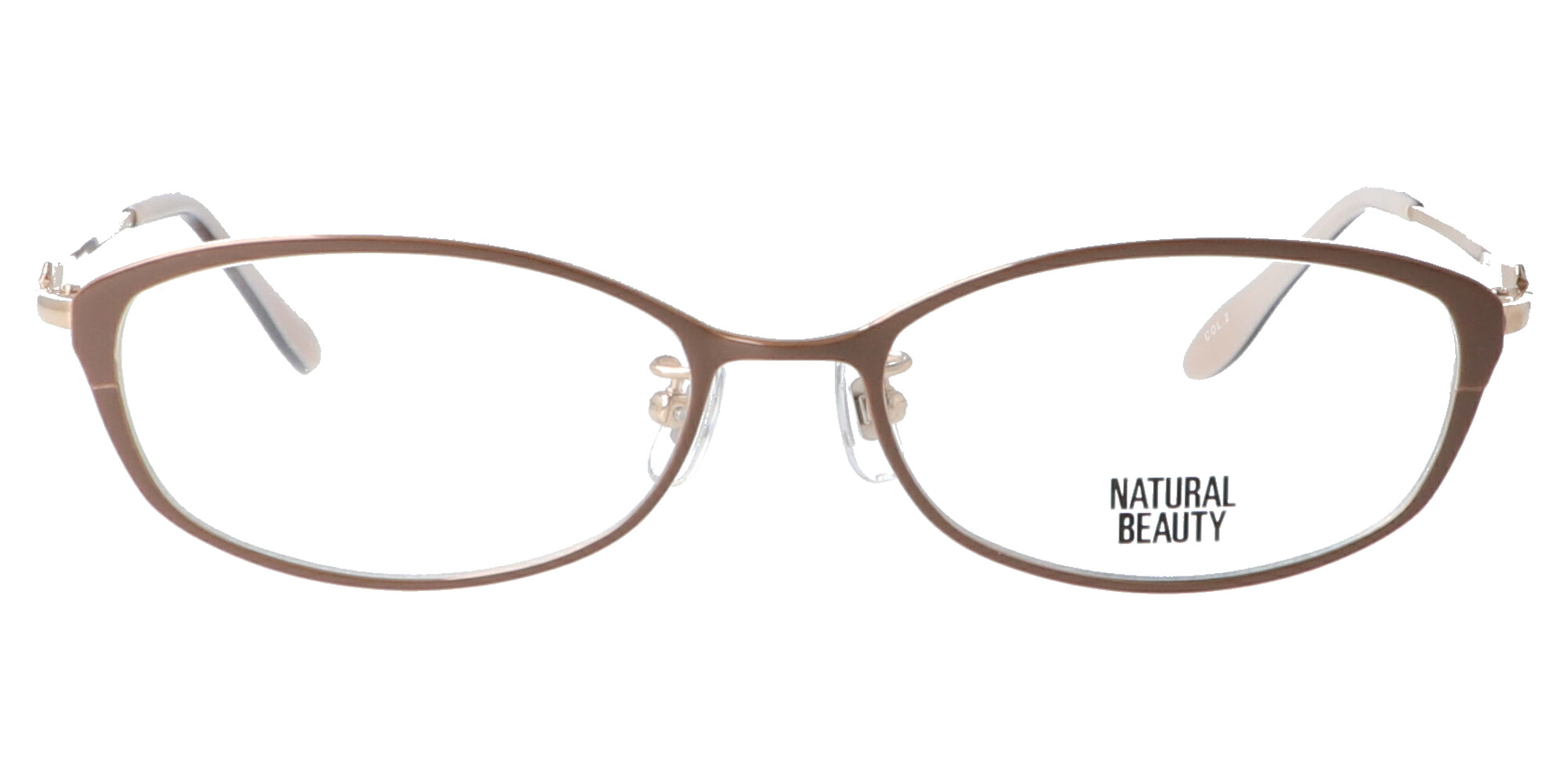 ナチュラルビューティー NB6029_52_カフェブラウン/ゴールド