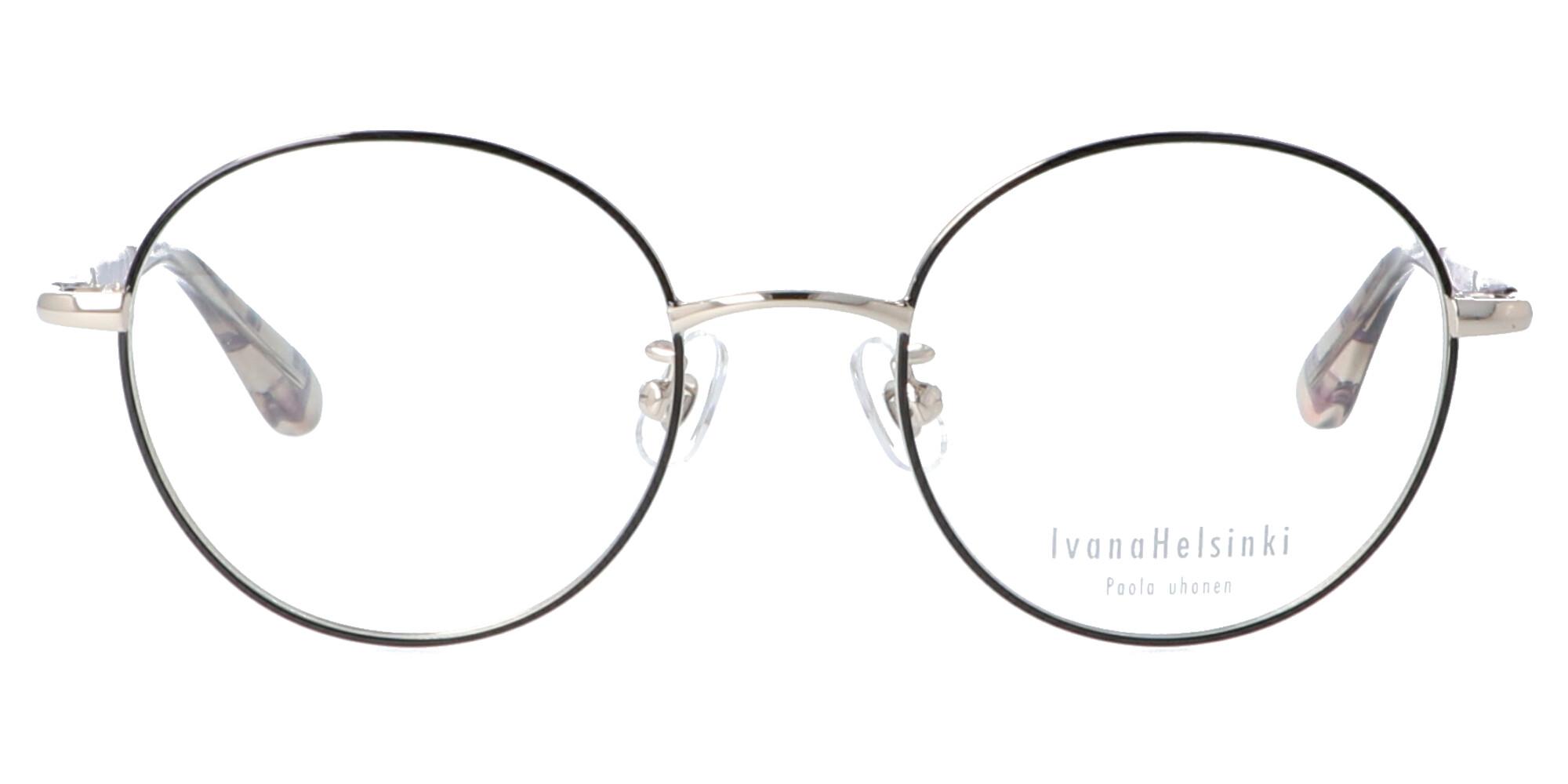イヴァナヘルシンキ IH-201_48_ホワイトゴールド/ブラック
