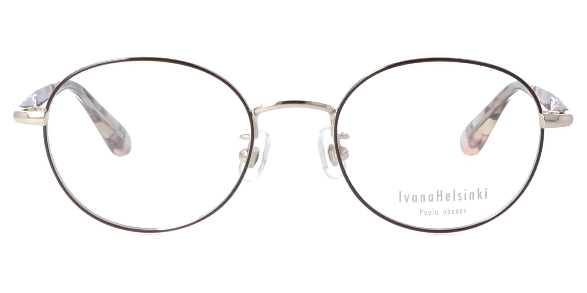 イヴァナヘルシンキ IH-202_49_ホワイトゴールド/ブラウン