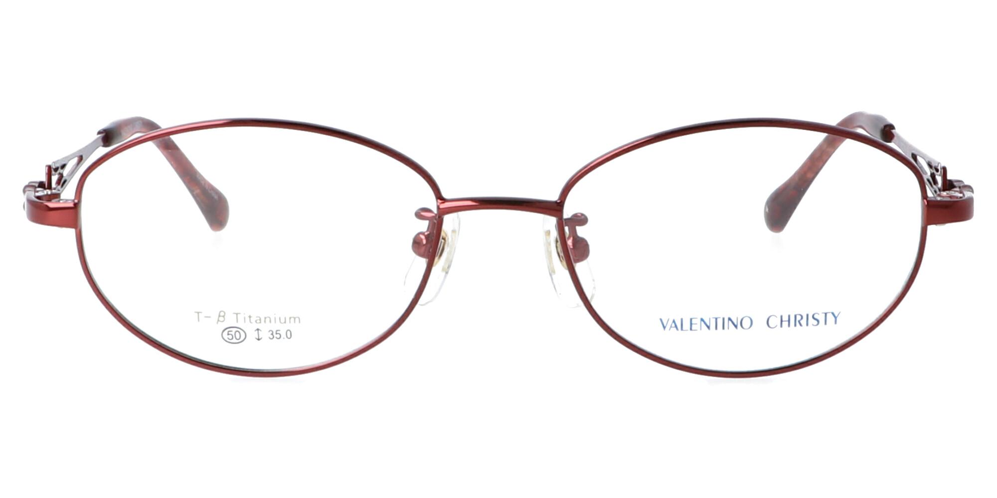 バレンチノクリスティ VC657_50_ワインレッド
