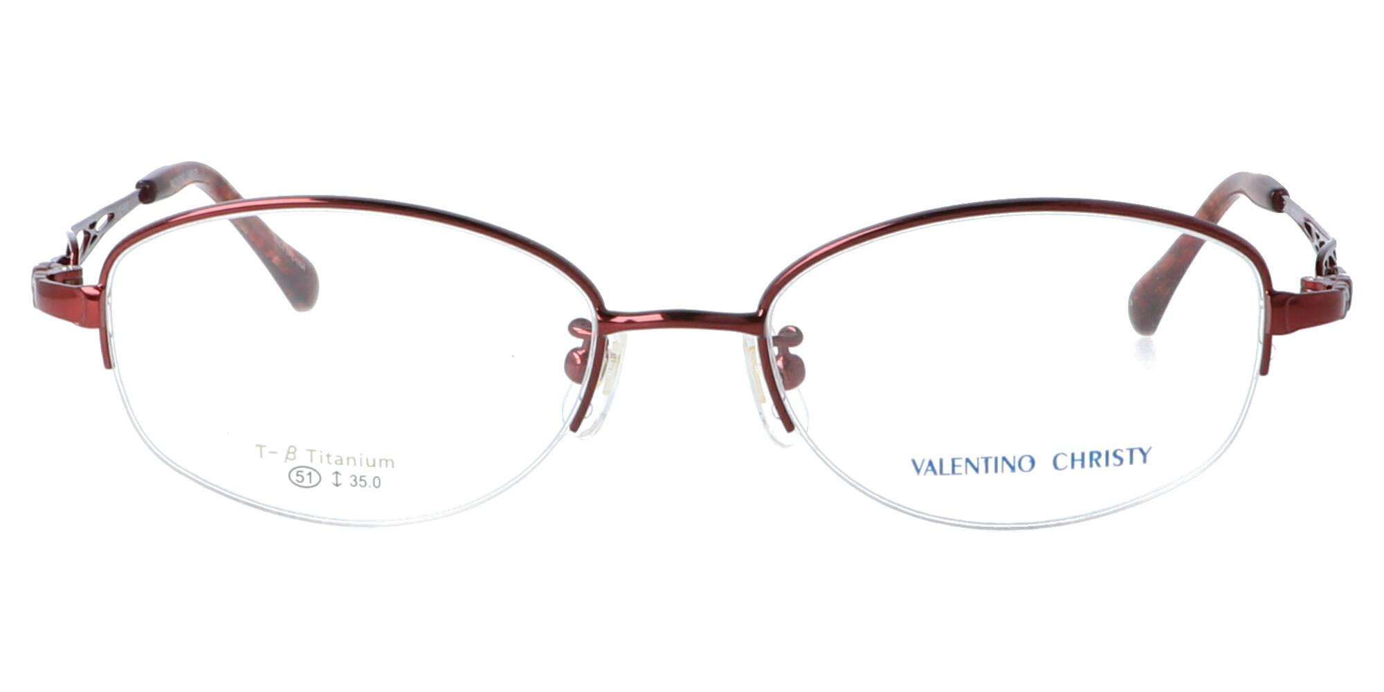 バレンチノクリスティ VC660_51_ワインレッド