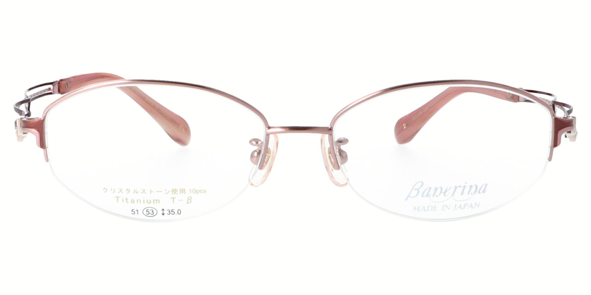 バネリーナ BA1030_53_ヘアラインピンク/ピンクブラウン
