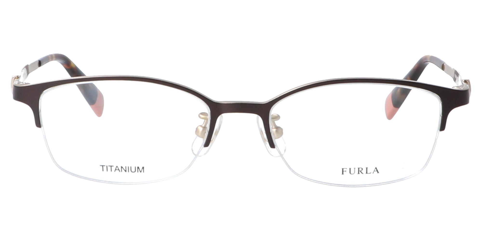 FURLA VFU407J_50_ダークブラウン/ホワイトゴールド