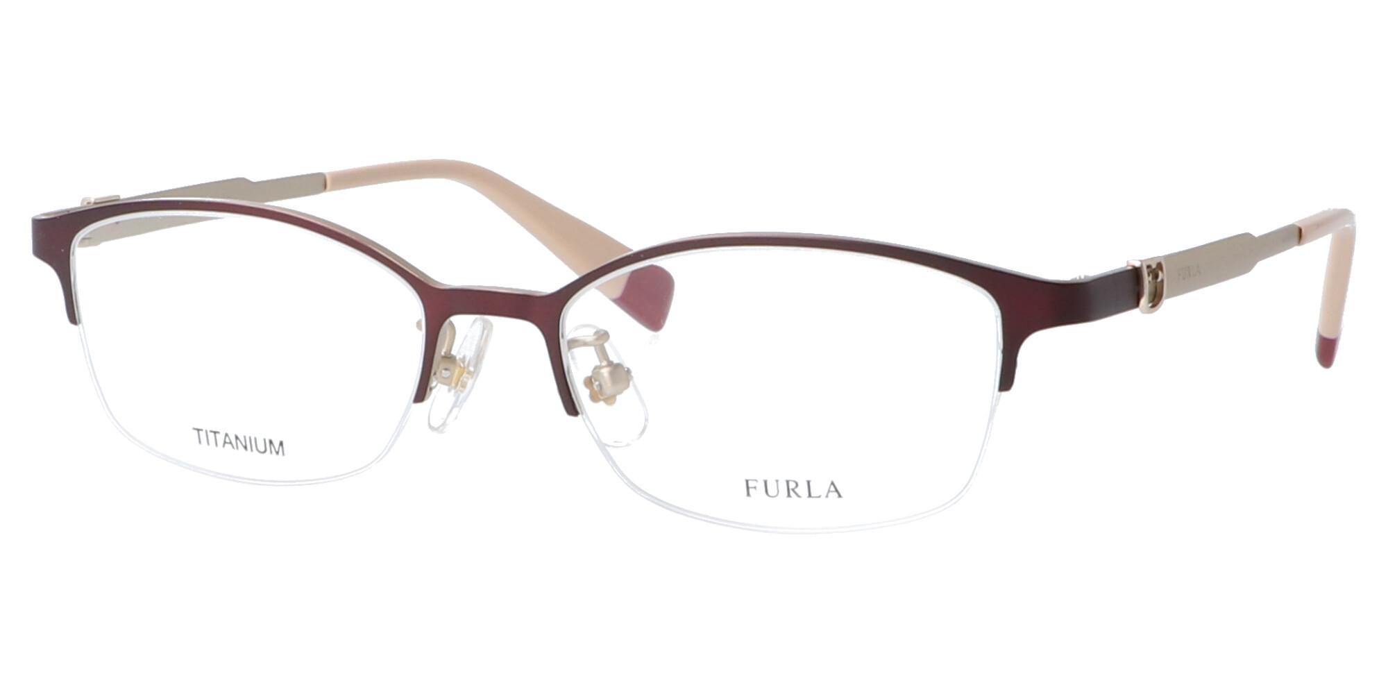 FURLA VFU407J_50_マットボルドー/ホワイトゴールド
