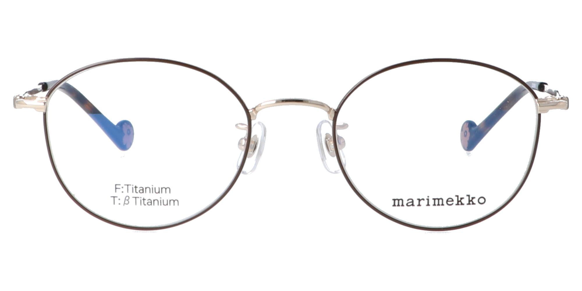 マリメッコ 32-0059_48_ライトゴールド・ブラウン