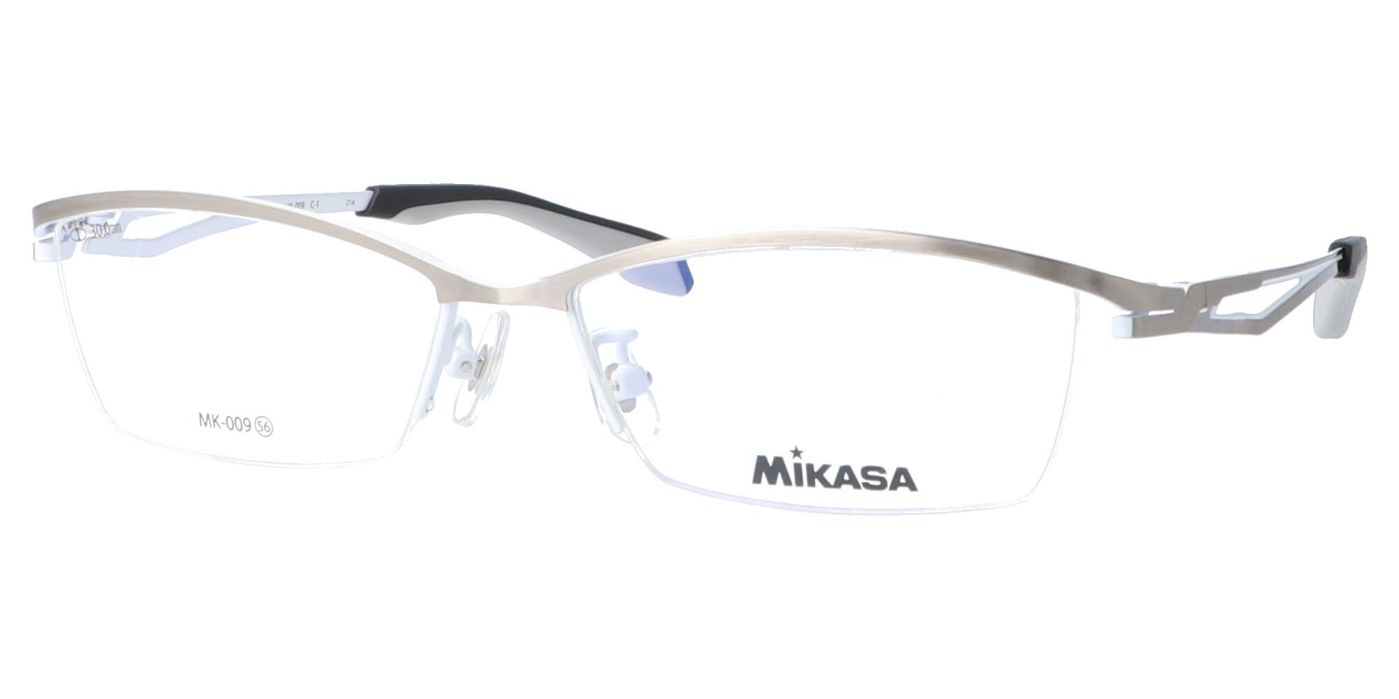 ミカサ MK-009_56_シャーリングシルバー