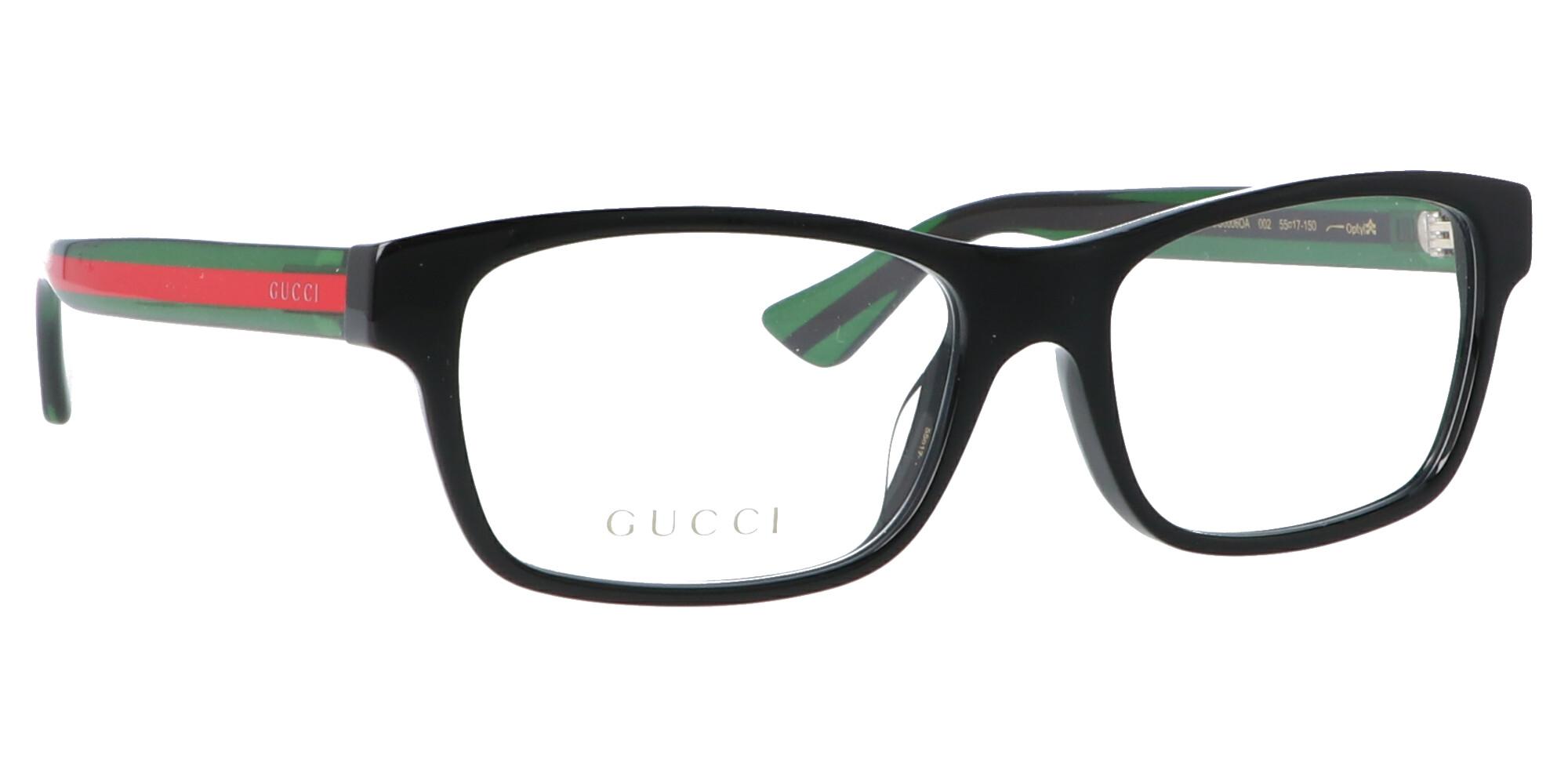 GUCCI GG0006OA_55_ブラック-グリーン
