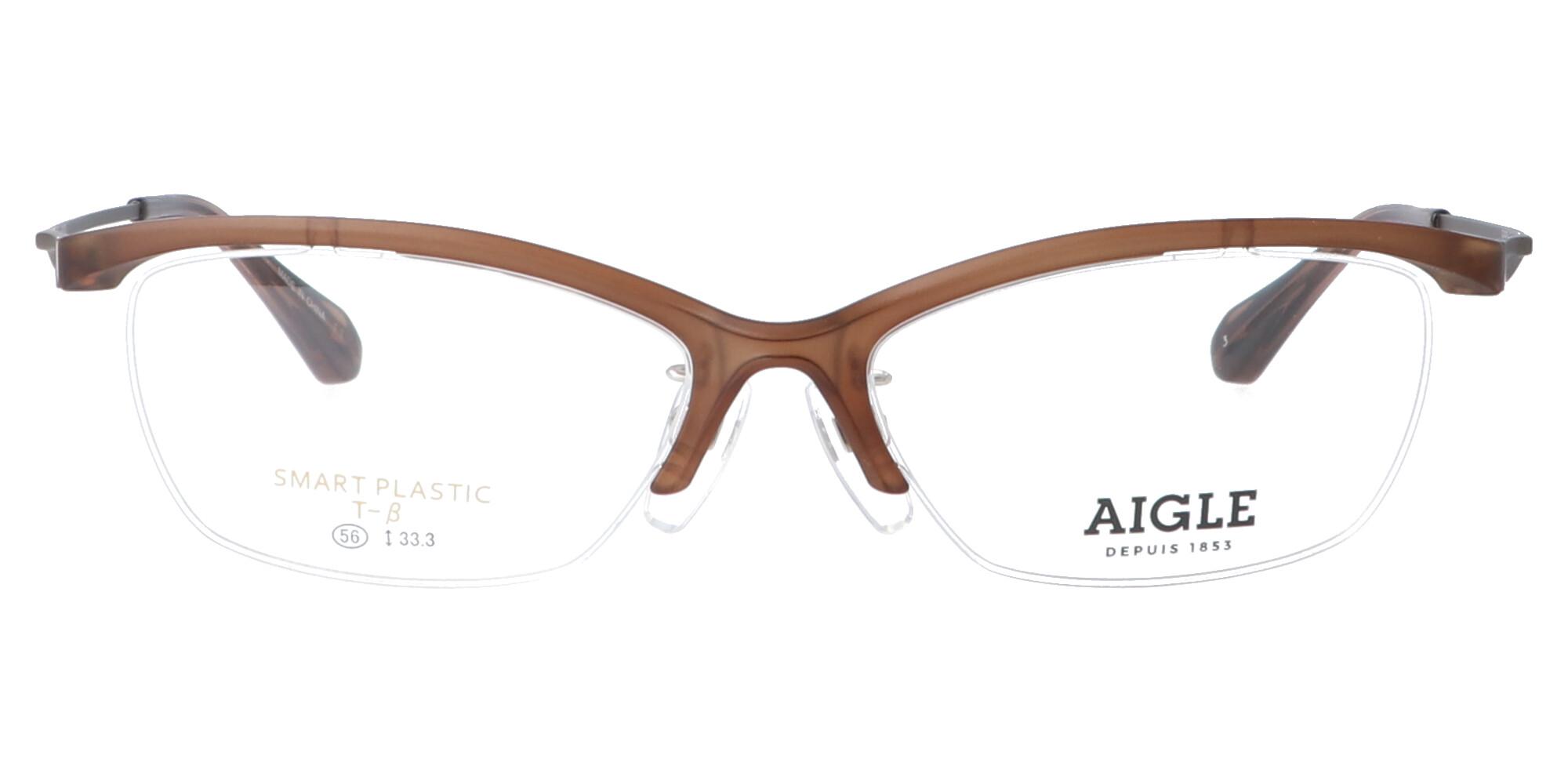 エーグル AG6022_56_クリアブラウン