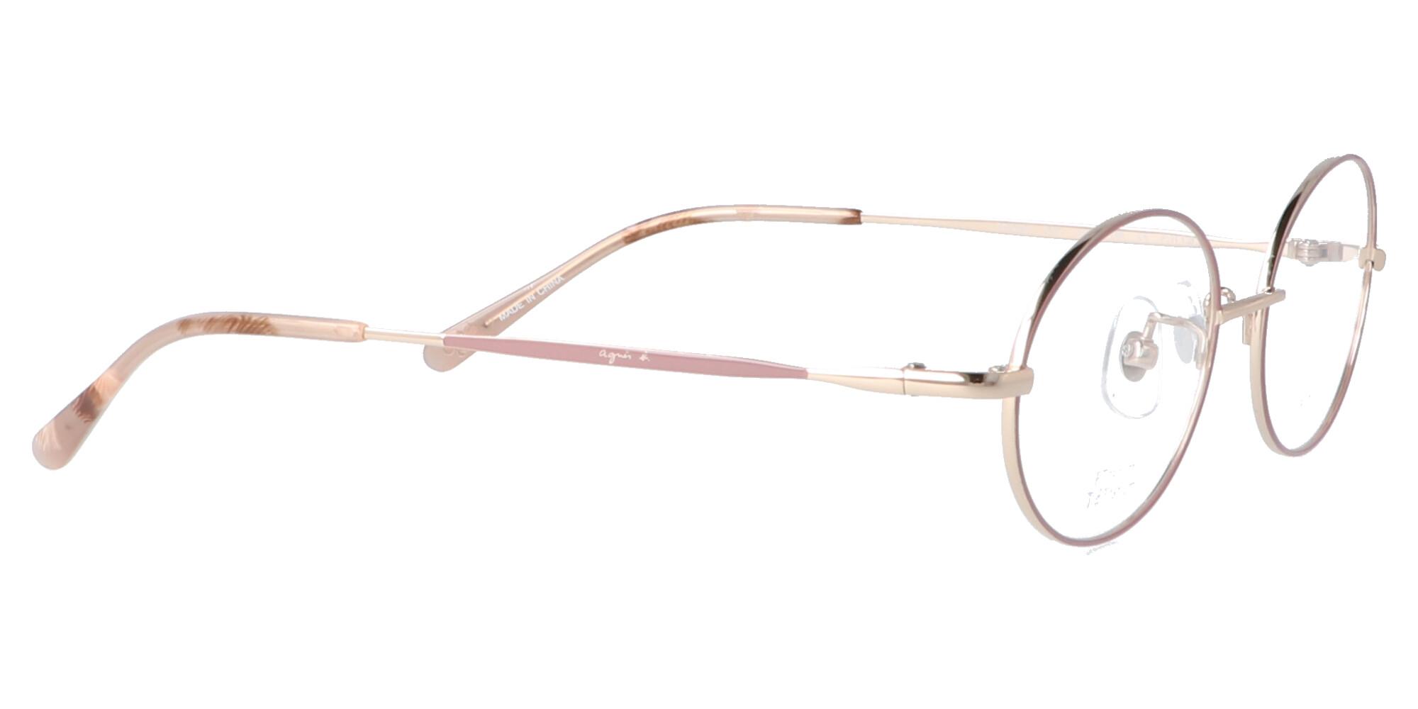 アニエスベー 50-0054_50_ライトゴールド・ピンク