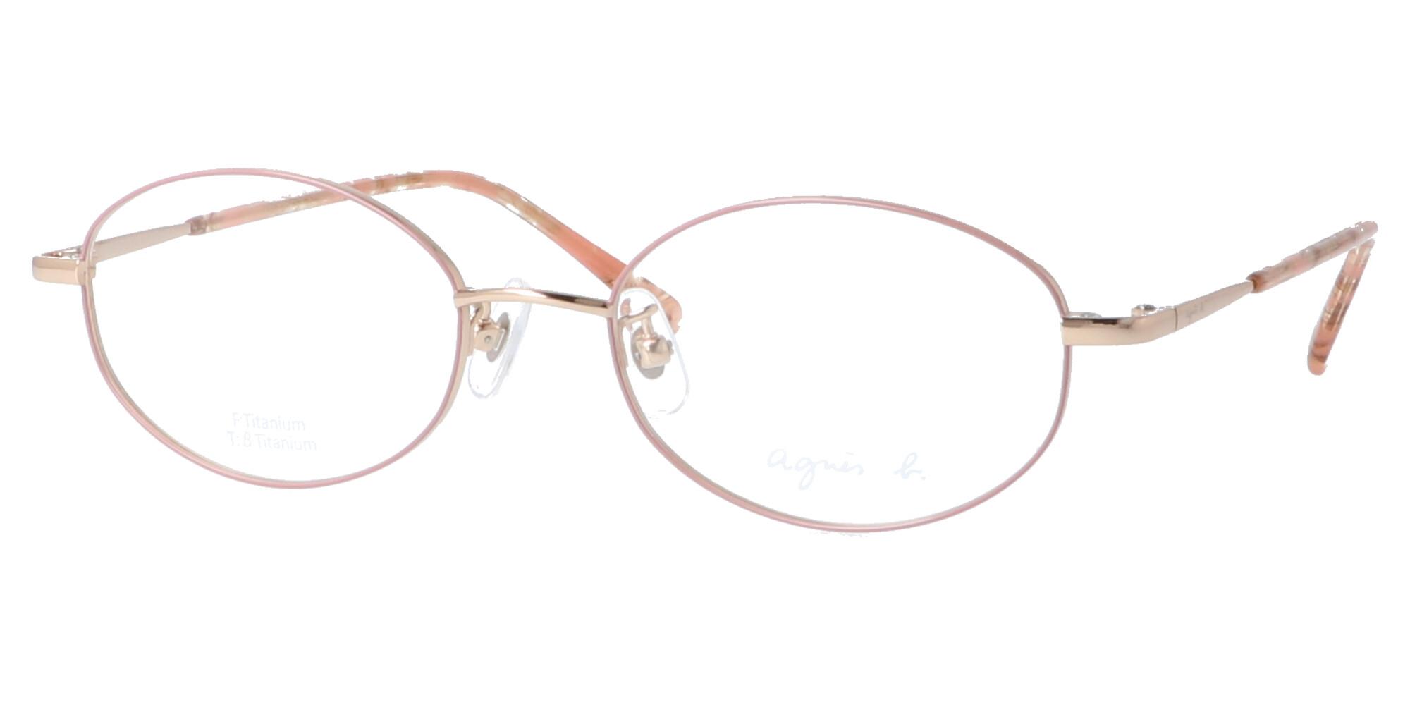 アニエスベー 50-0056_51_ライトゴールド・ピンク